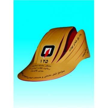 کلاه تبلیغاتی فوم لمینتی